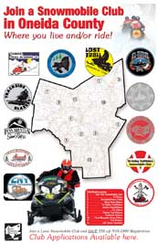 Oneida County Snowmobile Clubs